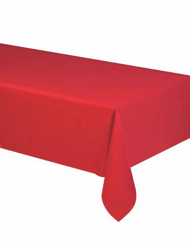Party-Tischdecke Papier-Tischdecke rot 140x280cm