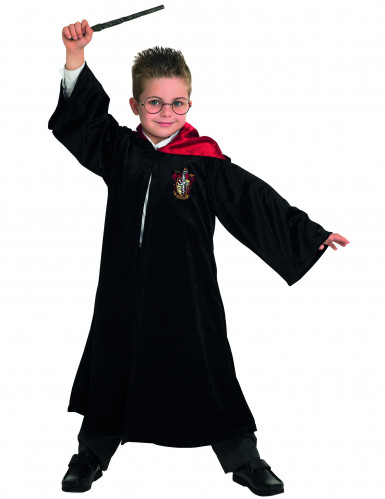 Harry Potter™-Jungenkostüm schwarz-rot