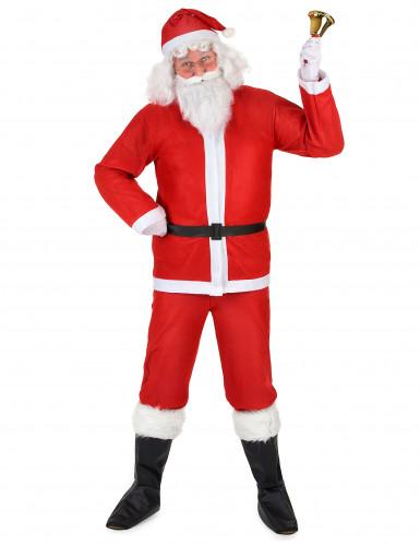 Böser Santa Weihnachtsmann Komplett-Kostüm Weihnachten rot-weiss