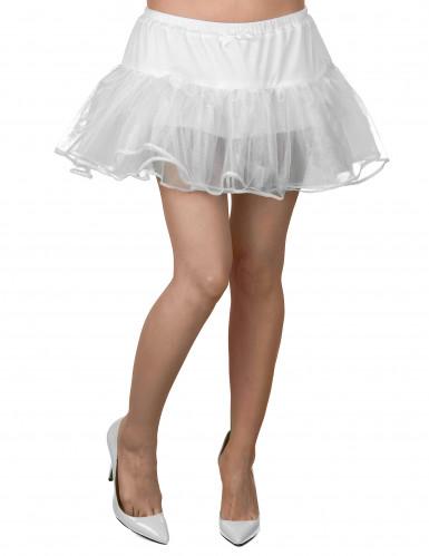 Petticoat Tutu Schleife weiss