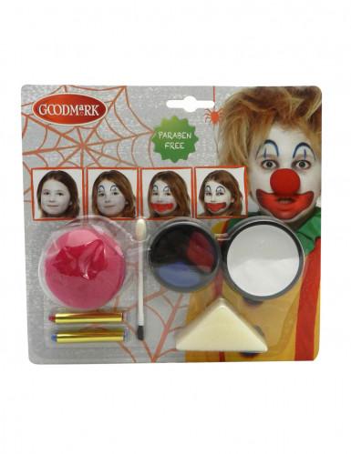 Halloween Clown Schminkset Erwachsene und Kinder