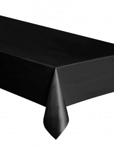 Halloween-Tischdecke Tischdekoration schwarz 137 x 274 cm