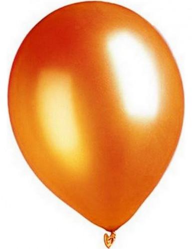 Luftballons 100 Stück metallic-orange 29cm