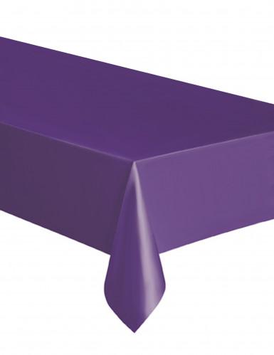 Eckige Tischdecke Einweg-Tischdecke violett 137x274cm