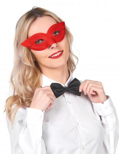 Augenmaske Superhelden-Maske Venezianische Maske für Erwachsene rot
