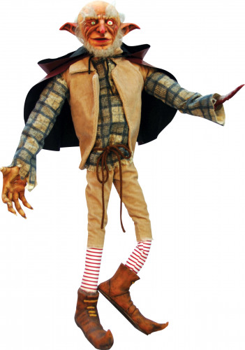 Böser Kobold Halloween-Dekofigur Partydeko bunt 60cm , günstige ...