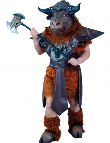 Minotauros-Kostüm für Erwachsene bunt