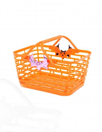Halloween Süßigkeiten-Korb Bonbonschale schwarz