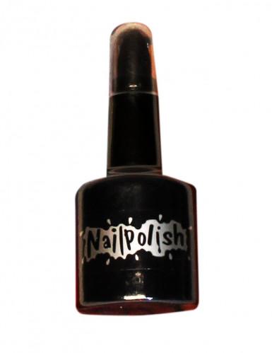 Lippenstift und Nagellack 2 in 1 Artikel schwarz