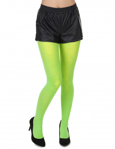 Strumpfhose Blickdicht 60 DEN neon grün