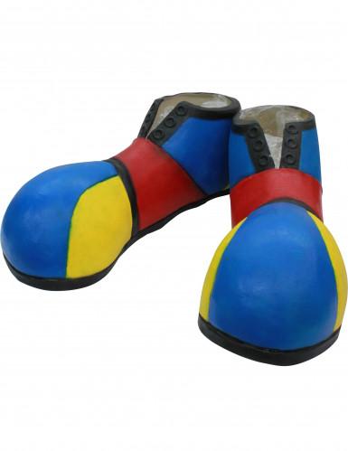 Clown-Schuhe Kostümzubehör bunt