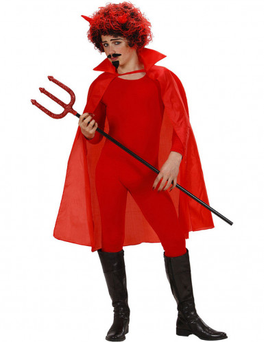 Roter Umhang für Kinder rot