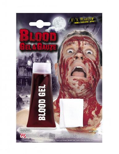 Blutgel mit Verband rot 42ml