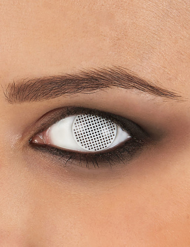 Kontaktlinsen Pixel weiss