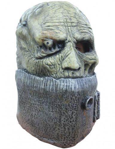 Machete Worker™ Maske Frankensteins's Army™ Lizenzartikel grün-grau