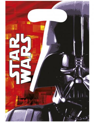 Geschenktüten-Set Star Wars™ 6 Stück bunt 16,5x23cm