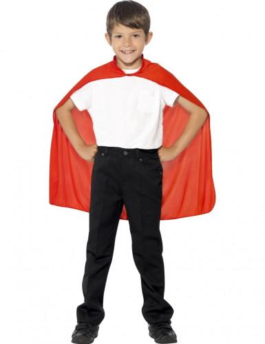 Rotes Cape für Kinder rot