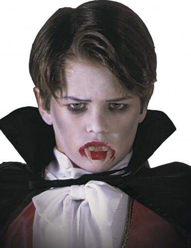Vampirgebiss für Kinder - Halloween Kostümaccessoire weiss