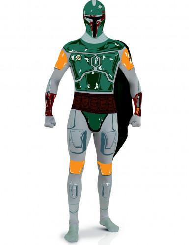 Star Wars™ Boba Fett Second Skin Kostüm für Herren Lizenzware bunt