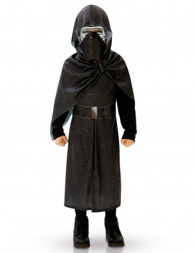 Kylo Ren Star Wars Deluxe Kinderkostüm Lizenzware schwarz-silber