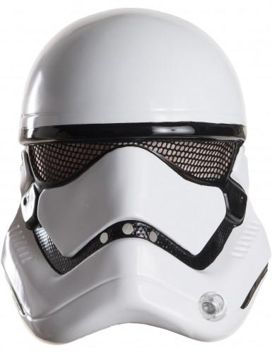 Star Wars VII™ Stormtrooper™-Halbmaske für Erwachsene