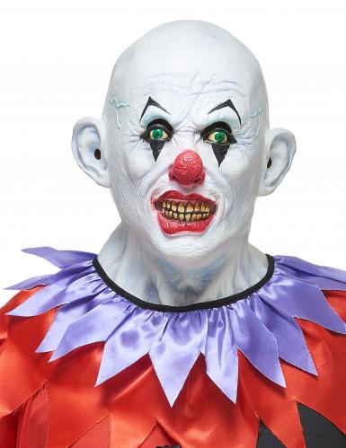 Gruseliger Clown-Maske