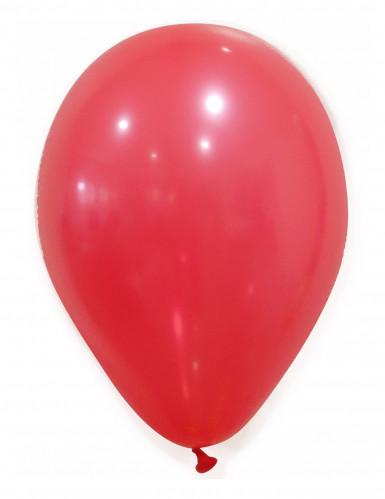 Partyluftballon-Set 50 Stück rot 30cm