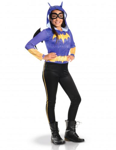 Batgirl™-Kostüm für Jugendliche DC Superhero Girls™ violett-gelb-schwarz