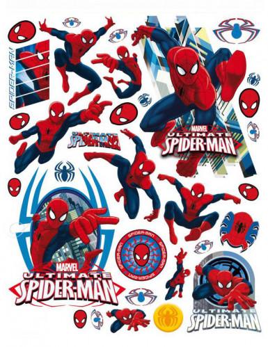 Spider-Man™ Fensteraufkleber 33-teilig Stück bunt