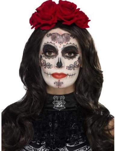 Dia de los Muertos Halloween Make-up Kit bunt