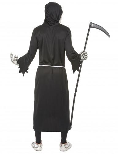 Sensenmann Halloween-Kostüm Gevatter Tod schwarz-2