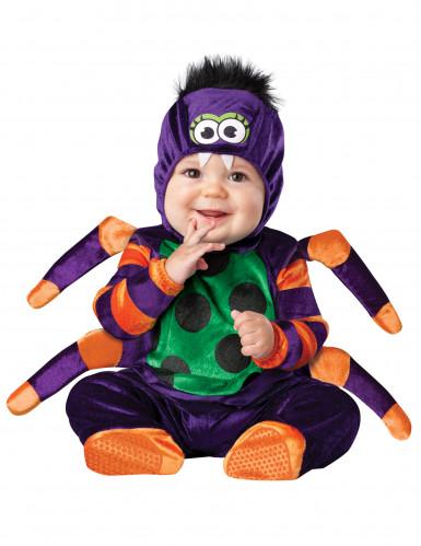 Putzige Spinne Halloween-Babykostüm bunt
