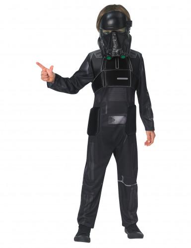 Star Wars Rogue One™ Death Trooper Deluxe Kinderkostüm Lizenzware schwarz