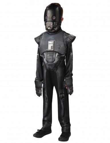 Star Wars Rogue One™ K-2SO Kinderkostüm Lizenzware schwarz