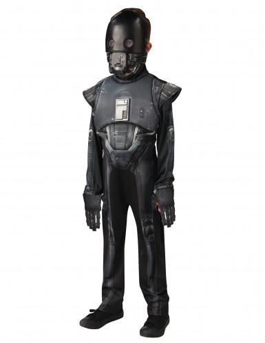 Star Wars Rogue One™ Seal Droid™ Teenkostüm Lizenzware schwarz