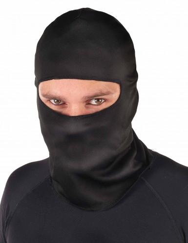 Ninja-Kapuze Sturmhaube für Erwachsene schwarz