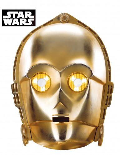 C-3PO™-Maske Star Wars™-Lizenzartikel gold