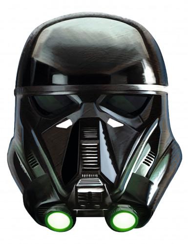 Deat Trooper™-Maske Star Wars-Lizenzartikel schwarz