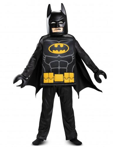 Lego™-Batman Kostüm Deluxe für Kinder schwarz-gelb-grau