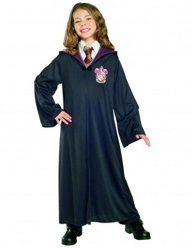 Harry Potter™-Zauberlehrlingskostüm für Kinder Gryffindor schwarz