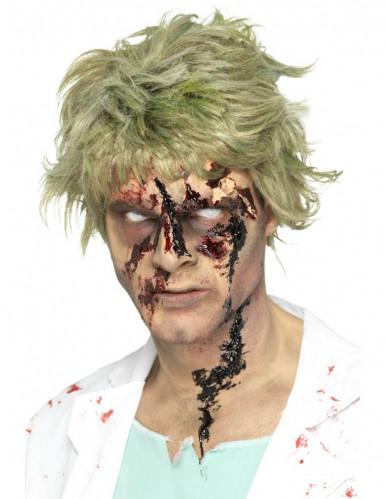 Zombie Blutschorf Halloween-Zubehör schwarz