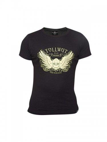Tollwut Streetwear T-Shirt 'BREAKOUT' schwarz