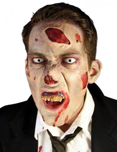 Make Up Set Halloween-Zubehör 8-teilig Zombie beige-rot