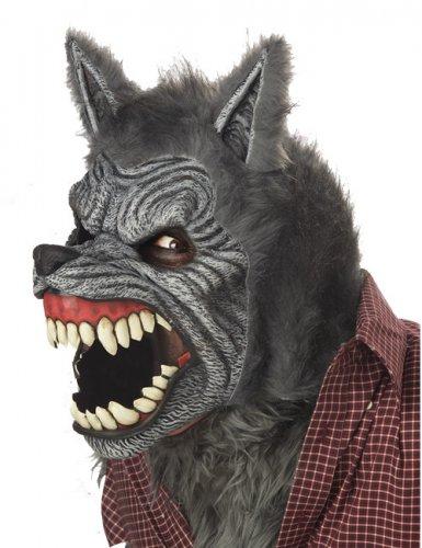 Ani-Motion Werwolf Maske grau