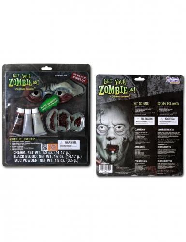 Zombie-Make-up-Set für Halloween