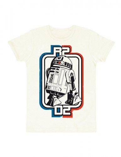 Star Wars R2-D2 Logo T-Shirt Slimfit weiss