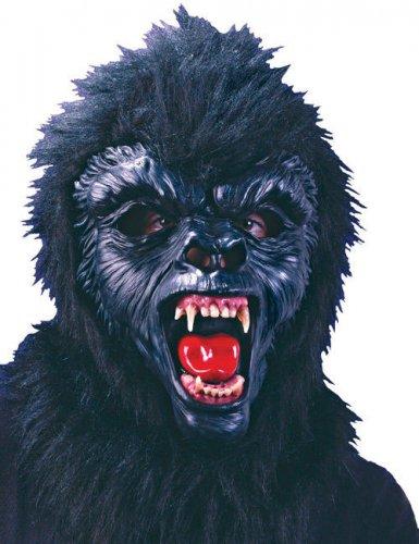 Gorilla-Maske Affe schwarz