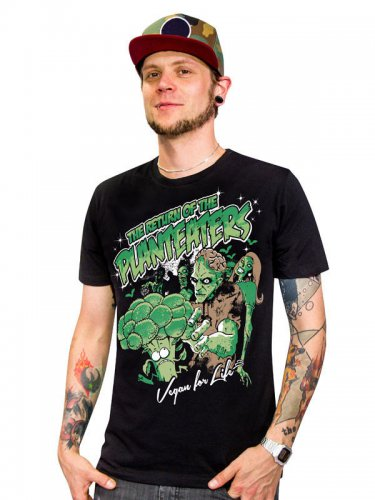 Vegan T-Shirt - Zombie Planteaters