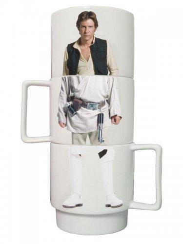 Star Wars™-Kaffeetassenset 3-teilig weiss