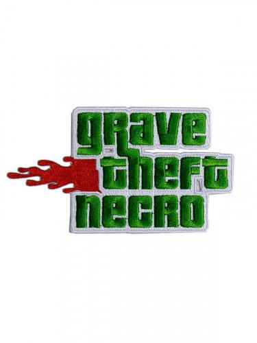 Kreepsville Gothic Aufnäher Grave Theft Necro grün